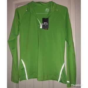 Green Slazenger golf pull over